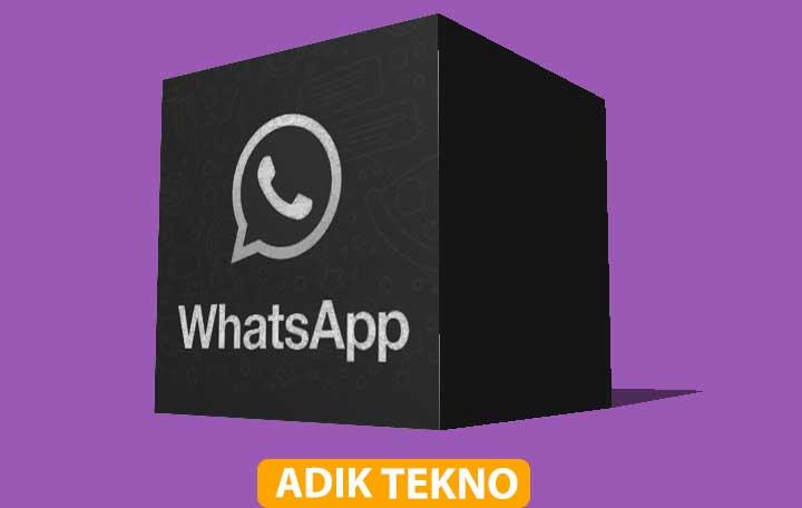 Cara Mengaktifkan Dark Mode di WhatsApp Android