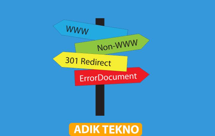 Cara Redirect Domain Lama ke Domain Baru Melalui htaccess
